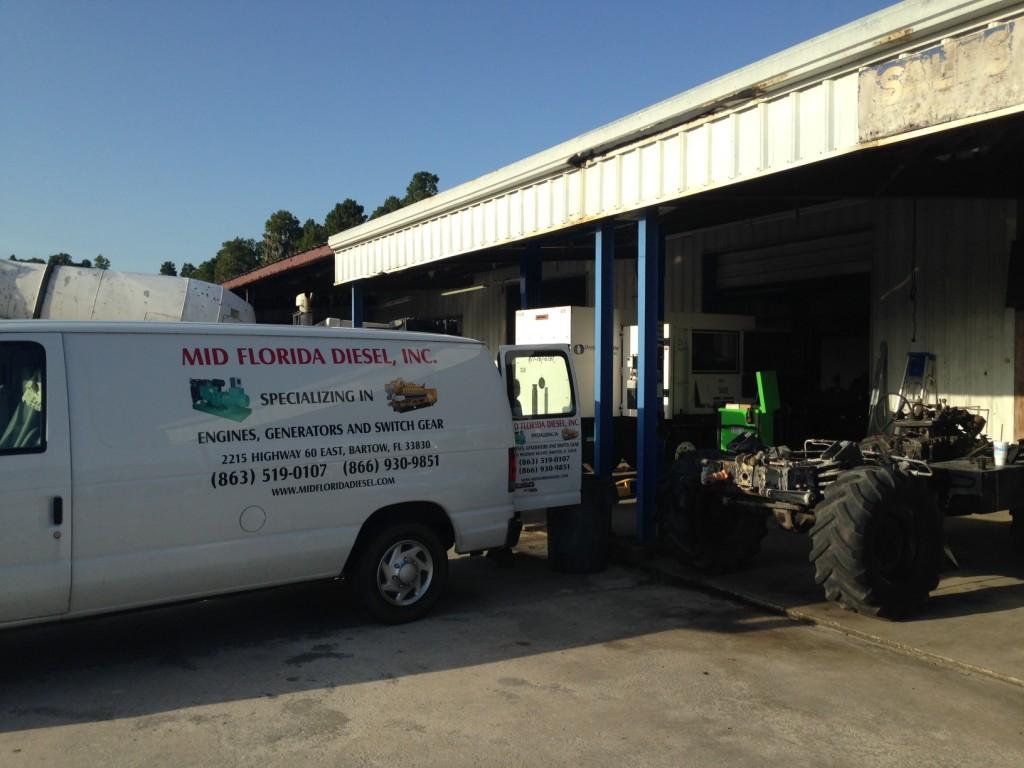 Mid Florida Diesel Repairs 220 KVA MQ Generator