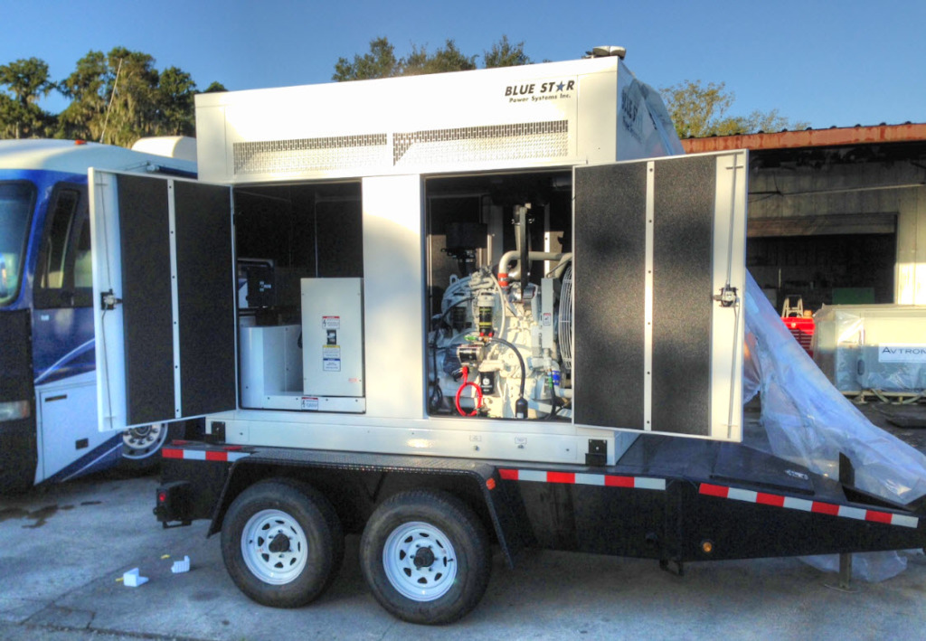 Another 100KW Trailer Mounted Blue Star Diesel Generator