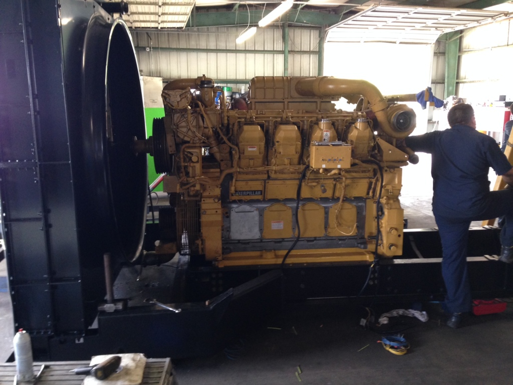 Mid Florida Diesel Project: Installation of 1 MEG Alternator