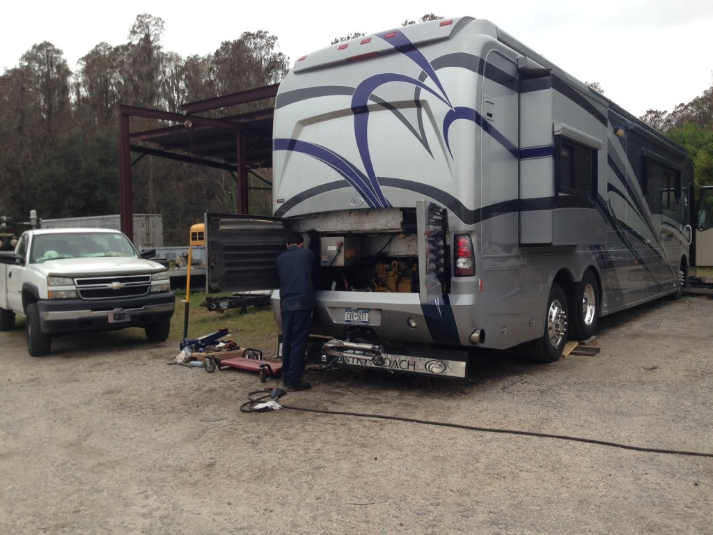 Mid Florida Diesel RV Projects: Repairing the engine and brake system