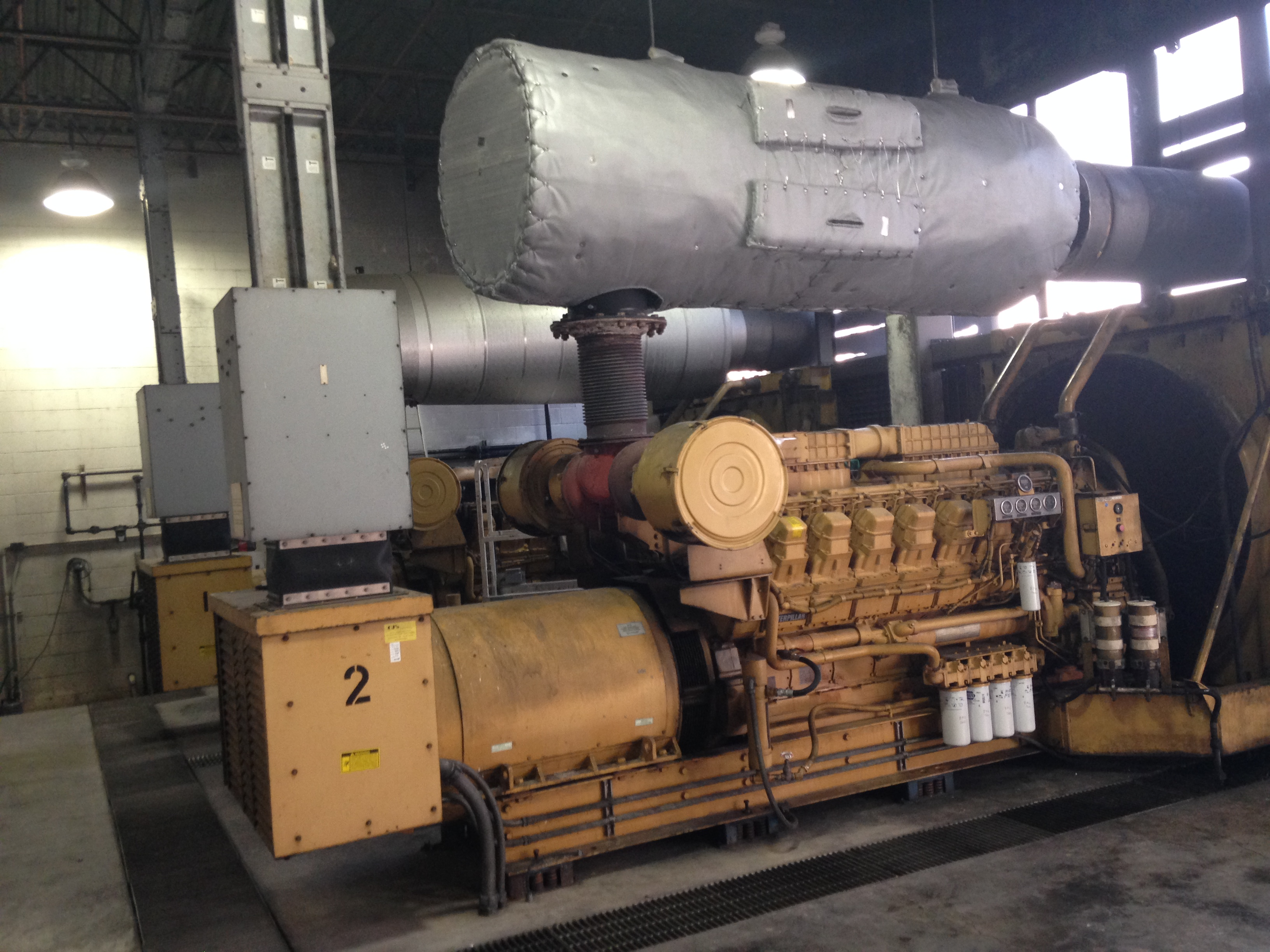 Mid Florida Diesel Projects: Installing New Catalyst on Caterpillar 3508 and 3516 Engines