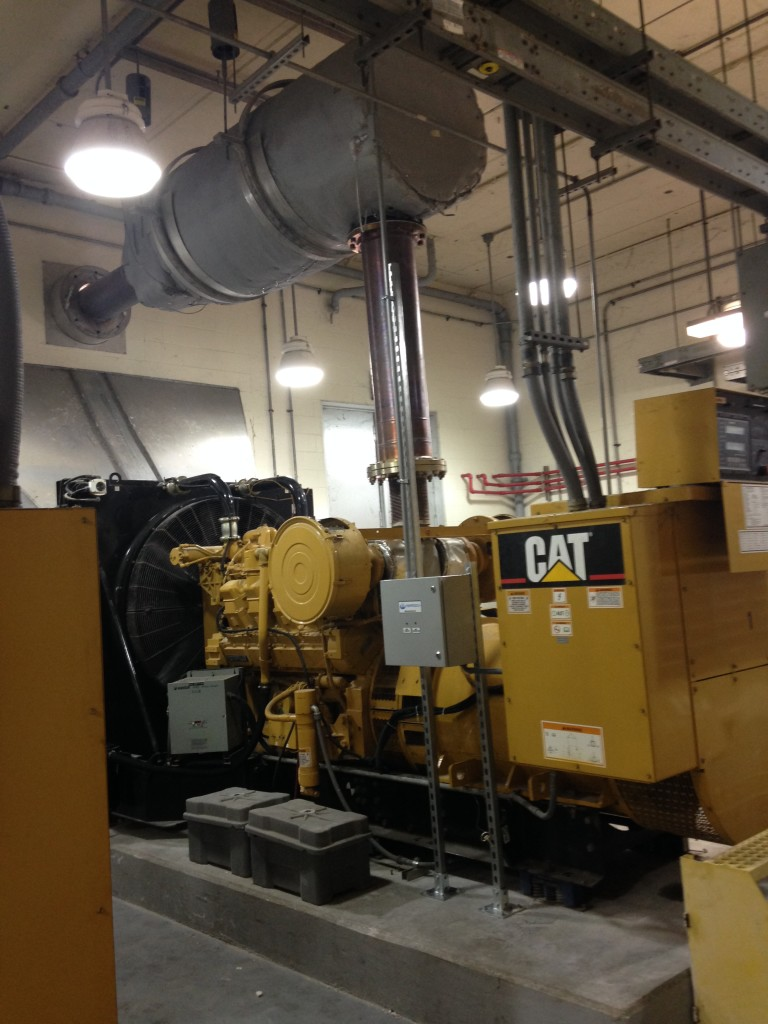 Installing New Catalyst on Caterpillar 3508 and 3516 Engines