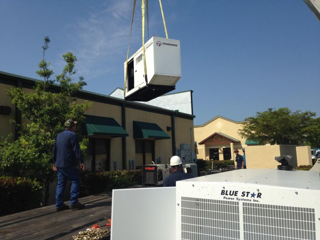 Mid Florida Diesel installs a New Blue Star Power Systems Diesel Generator