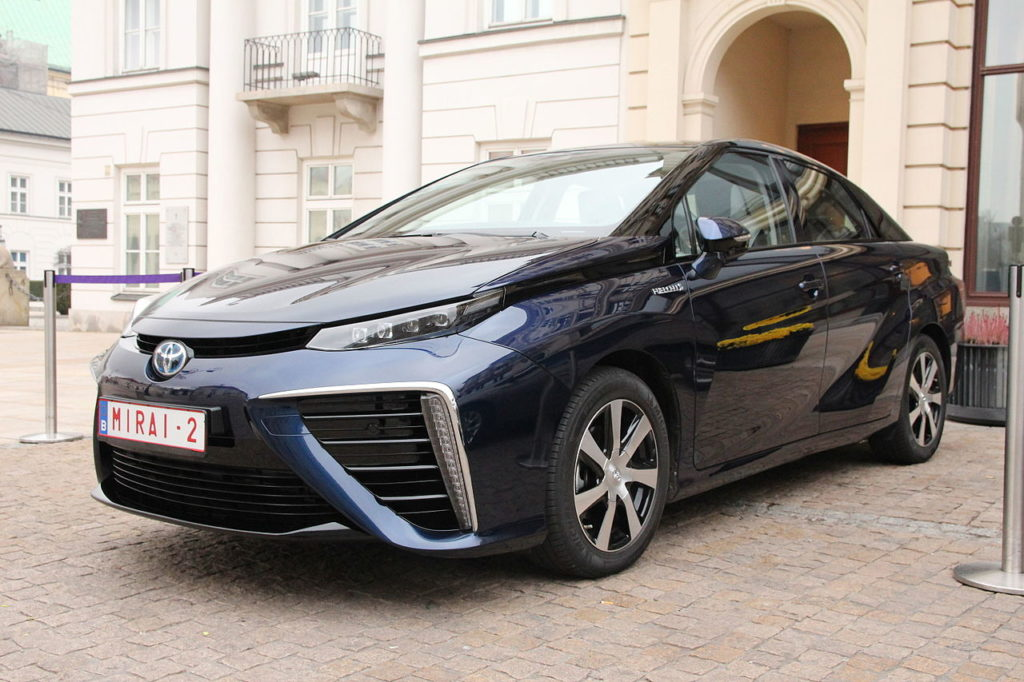 Toyota's Mirai Heralds In A New Age For Hydrogen Fuel Cells