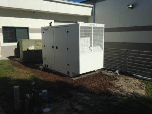Mid Florida Diesel Installs a new Blue Star Generator at University of South Florida