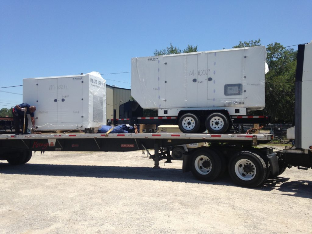 Mid Florida Diesel Sells Two Blue Star Generators