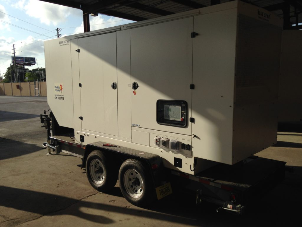 Mid Florida Diesel Sold a New 125KW Blue Star Power Systems Generator