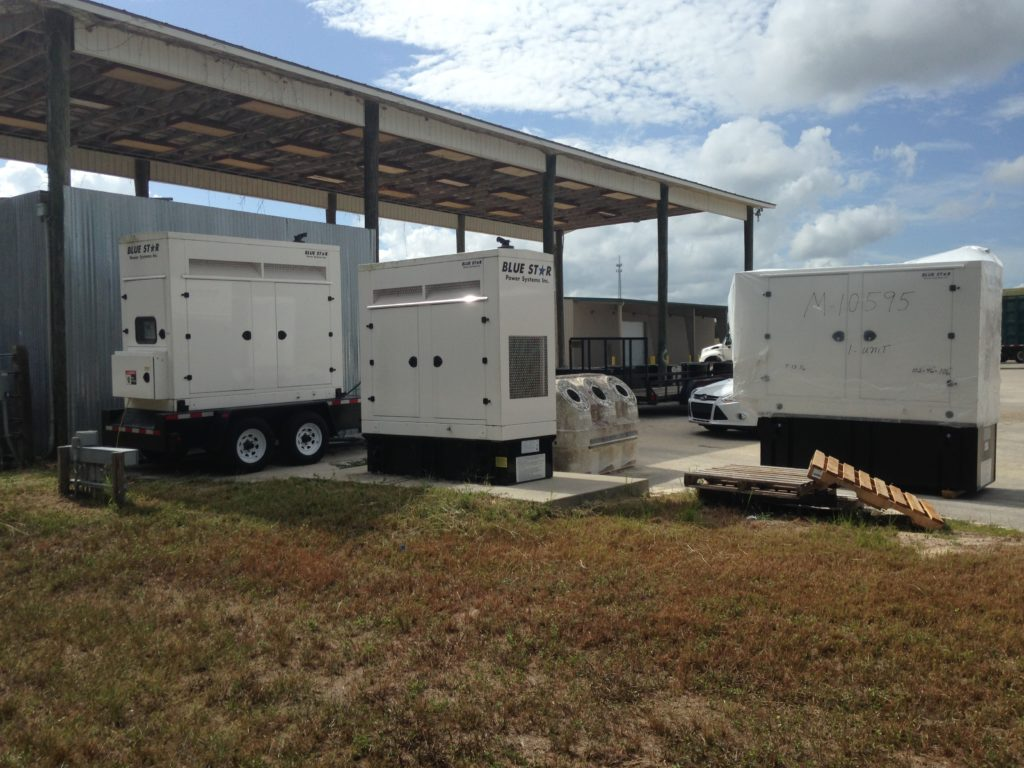 Mid Florida Diesel Delivered New Blue Star Generator With a Basler Controller