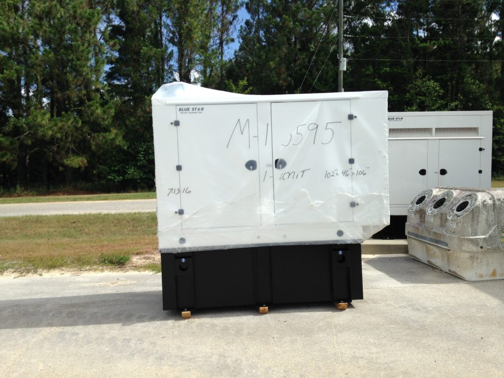 Mid Florida Diesel Delivered New Blue Star Generator With a Basler Controller