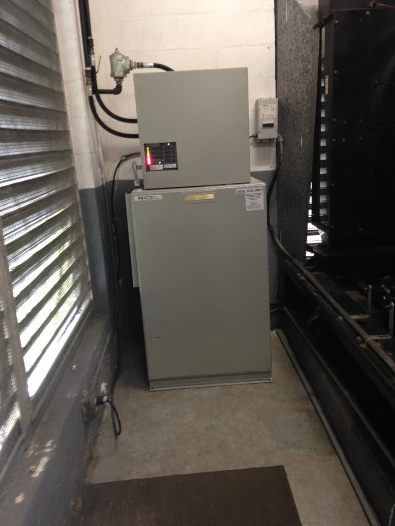Mid Florida Diesel Installed a Pryco Double Wall Day Tank