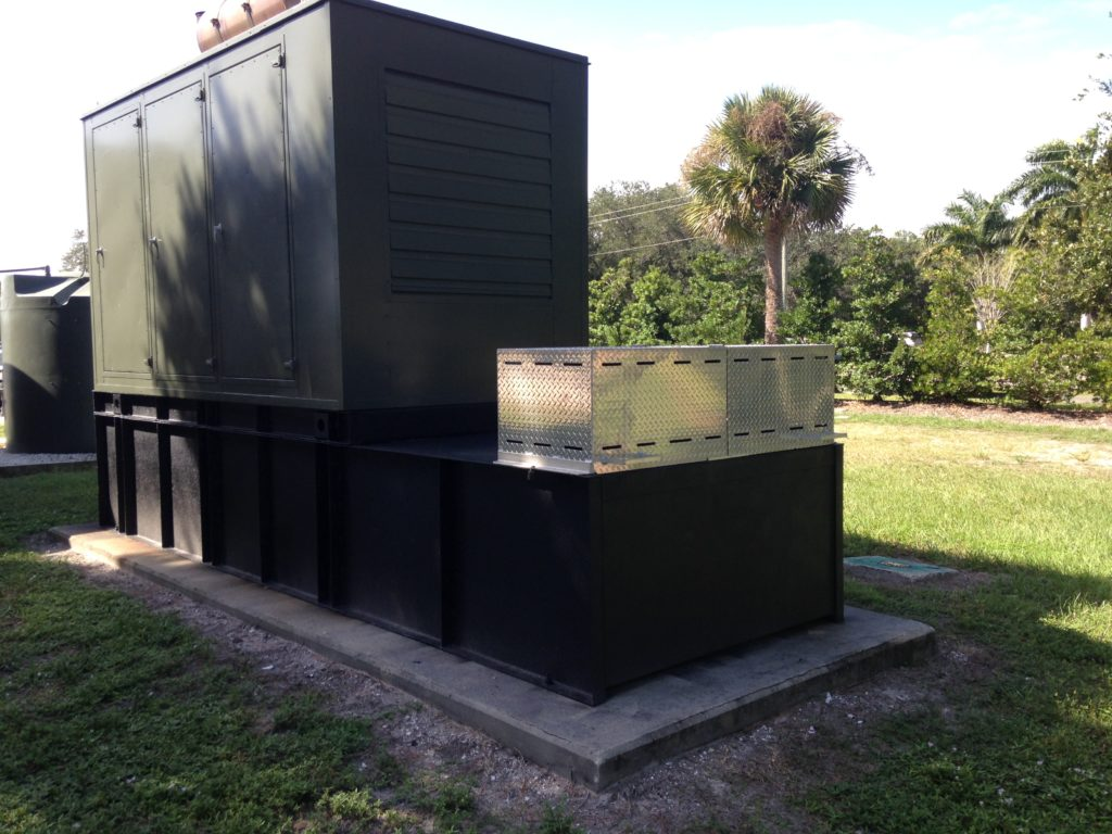 Mid Florida Diesel Reconditioned Diesel Fuel Tank for the City of Venice