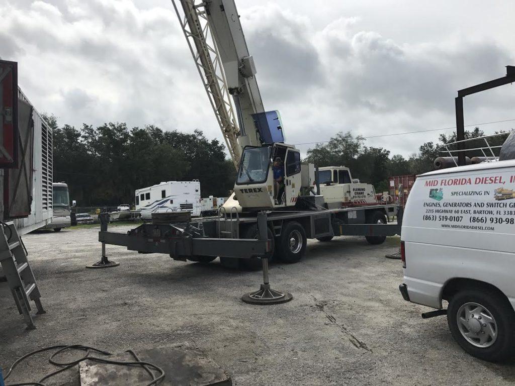 Mid Florida Diesel Repair 2000KW Baldor Generator