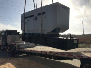 Mid Florida Diesel Delivered - Installed a New Gillette Generator