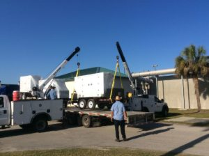 Mid Florida Diesel delivered Blue Star Power System Trailer Mounted Generator