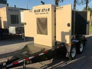 Blue Star Power Systems Trailer Mounted Generators