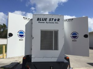Blue Star Trailer Mounted Generators to Seacoast Utilities Authority in Boca Raton, FL