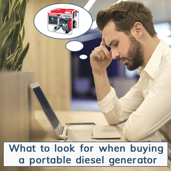 Buying a Portable Generator: What to Look For