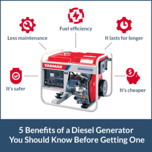 Benefits of a Diesel Generator You Should Know Before Getting One