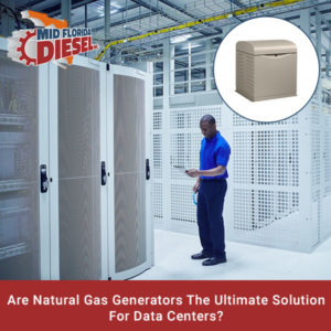 Temporary Natural-Gas Generators Power Data Centers
