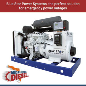 Blue Star Power Systems, The Perfect Emergency Standby Power Solution