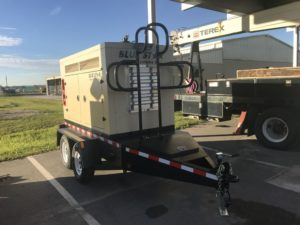 Blue Star Power Systems 50KW Trailer Mounted generator to the City of Lakeland, Florida