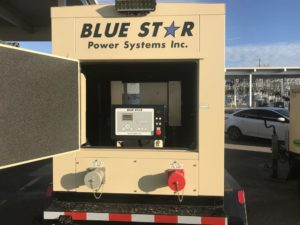 Blue Star Power Systems 50KW Trailer Mounted generator