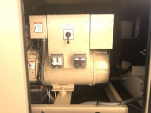 Blue Star Systems 50Kw Trailer Mounted Generator Installation