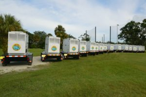 City of Tarpon Springs is now prepared with 15 - Blue Star 40kw Trailer Mounted Generators!