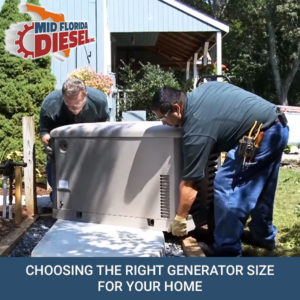 Choosing the Right Generator Size for Your Home