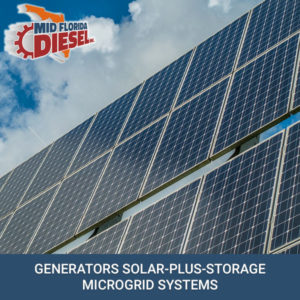 Diesel Generators: Solar-Plus-Storage Microgrid Systems For The Future