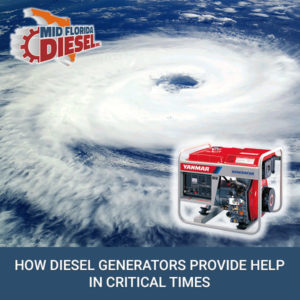 How Diesel Generators Provide Help in Critical Times