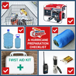 A Hurricane Preparation Checklist