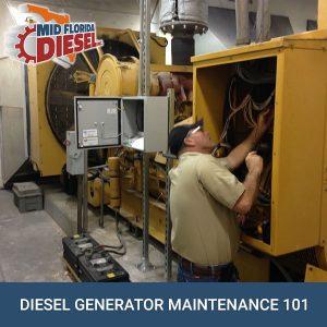 Diesel Generator Maintenance 101