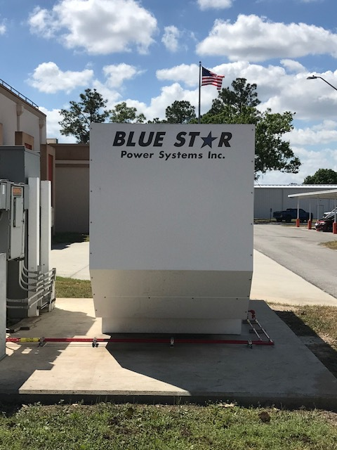 Installs A New 400kW Blue Star Powers Systems Generator At Their TB Williams WTP